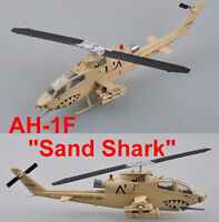 Easy Model 1/72 US Army AH-1F Sand Shark Helicopter Plastic Model #37099