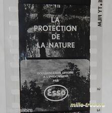 Film documentaire Ecole ODF La PROTECTION de la NATURE ESSO - Film Noir & Blanc