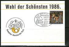 Gestempelte Briefmarken aus Berlin (1970-1979) mit Feiertags- & Weihnachts-Motiv