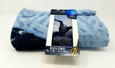 Marvel Black Panther Beach Bath Towel New