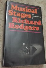 Musical Stages : An Autobiography by Richard Rodgers (1975, Hardcover)