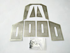 Stainless Steel Body Protector Armor -7pcs Set For 1/10 Traxxas TRX4 Tactical