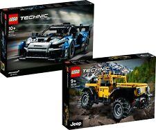 LEGO Technic 42122 Jeep Wrangler 42123 McLaren Senna GTR  N1/21