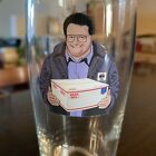 Seinfeld Hop Fiction Limited Edition Glass Newman USPS Beer Mail Rare New Jerry