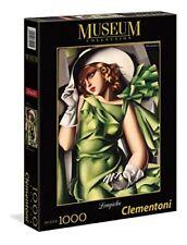 Puzzle 1000 Condividi - Lempicka giovane Ragazza in Verde von Clementoni