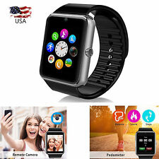 Smart Watch Bluetooth All-in-1 With Camera for Android Samsung S7 Edge S8 LG HTC