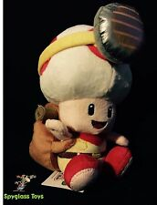"Nintendo Super Mario 7.5"" Plush by Sanei - Captain Toad"