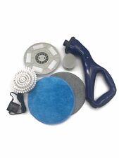 RiteWorx Compact Cordless Indoor Outdoor Multi-Purpose Power Scrubber Navy Blue