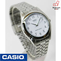 """New"""" CASIO Stainless Watch Silver/White MTP-1129AA-7BJF Standard Men's F/S Japan"""