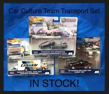 Hot Wheels 50th Car Culture Team Transport Set Of 3 Porsche,VW,Skyline,Laurel