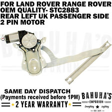 WINDOW REGULATOR- FOR LAND ROVER RANGE ROVER DISCOVERY/CLASSIC 1969-98 REAR LEFT