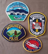 USA - 4 x Different Police Patches - 1