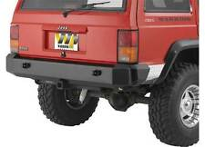 Warrior Rear Rock Crawler Contour Bumper w/ D-Rings 84-96 Jeep Cherokee XJ