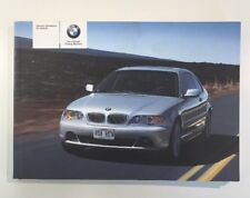 BMW 3 SERIES COUPE OWNERS MANUAL / OWNERS GUIDE / HANDBOOK 2003 - 2006 (2005)