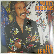 MARTY ROBBINS The Legend LP (1982) COUNTRY (STILL SEALED/UNPLAYED)