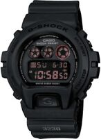 BRAND NEW CASIO G-SHOCK DW6900MS-1 BLACK DIGITAL MILITARY WATCH NWT!!!