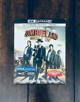 Zombieland Double Tap 4K Ultra HD Movie Case + Slip Cover. NO MOVIE