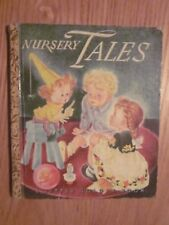 1943 Nursery Tales Little Golden Book Edited by Masha