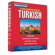 Pimsleur Turkish Conversational Course - Level 1 Lessons 1-16 CD: Learn to Speak
