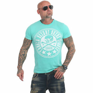 Neues Yakuza Herren Inner Circle T-Shirt – Turquoise