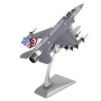1:72 F16 Fighting Falcon Aircraft Model Diecast Jet Plane with Display Stand