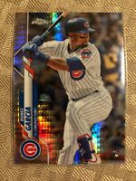 2020 Topps Chrome Prism Refractor Robel Garcia RC #181 Chicago Cubs Rookie