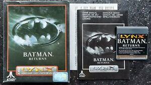 Batman Returns - Atari Lynx - Boxed & Complete!