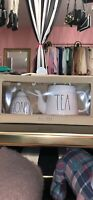Rae Dunn by Magenta - LL TEA POT & HONEY Set - NEW WITH TAG