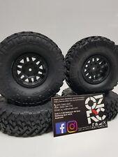 AXIAL 1.9 inch nitto trail Grappler M/T Scx10 Rc Rock Crawler Tyres Rims (4)ozrc