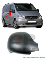 FOR MERCEDES-BENZ VITO 03-10 WING MIRROR COVER CAP RIGHT O/S LEFT HAND DRIVE