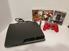 Sony PlayStation 3 PS3 SLIM 250GB Console CECH-2001B - ACTION BUNDLE - NICE!!!