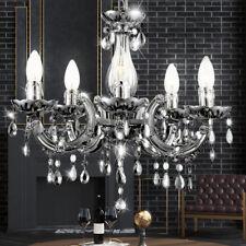 LED CRYSTAL CHANDELIER LA VIE chambre Suspendu Lustre Lampe CHROME Plafonniers