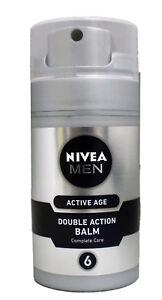 Nivea Men Active Age Double Action Balm Complete Care 2.7 Ounce