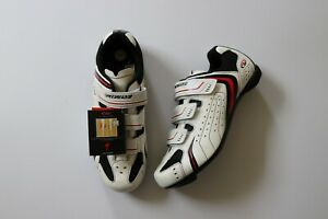Specialized BG Mens Road Bike Shoes white  41EUR 8 US
