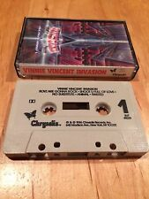 Vinnie Vincent Invasion - 1986 debut CASSETTE TAPE 1st US issue kiss slaughter