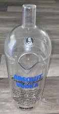 Absolut Vodka Plastic Promo Pitcher