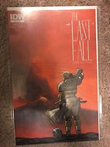 The Last Fall #1 NM 2014 IDW Comics Tom Waltz Casey Dusty Yee Comic Book War