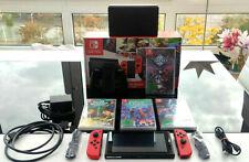 Nintendo SWITCH Super Mario Odyssey Edition + 4 Spiele CrossCode Hello Neighbor
