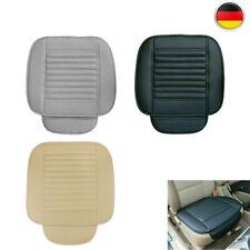 Uviversal Auto Vordersitz PU Leder Sitzauflage Sitzbezüge Sitzkissen Matte Cover