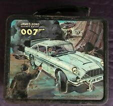 JAMES BOND  007  METAL LUNCH BOX  1966  ALADDIN