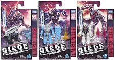 Transformers guerra por Cybertron asedio Battlemasters Onda 1-Nuevo en la acción