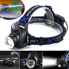 LED Cap Light Headlight Mining Lamp Miner Camping Night Fishing Ride climbing