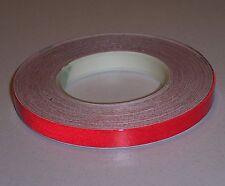 3 x Reflexstreifen 7 mm 5 m rot - Reflektierender Zierstreifen Auto Design