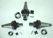 3 Kombiaufsteckdorne NEU SK40 S20x2 z.B. für Deckel Fräsmaschine
