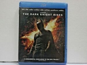 THE DARK KNIGHT RISES Blu Ray disc BNEW SEALED