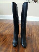 Vince Camuto Sidney Tall Boot - Women's Size 7M - Black Leather