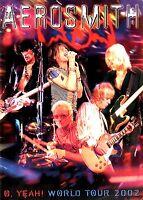 AEROSMITH 2002 O. YEAH! TOUR CONCERT PROGRAM BOOK / JOE PERRY / STEVEN TYLER