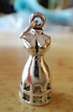 Sterling Silver 3D 21x9mm 3gram Sewing Mannequin Dress Form Maker Sewing Charm