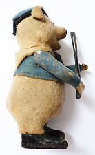 ours violoniste jouet mécanique SCHUCO Germany vers 1930 toy teddy bear violin