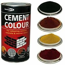 Bond-IT Cement Dye Powder Colour Mortar Brick Pointing Render Concrete Toner 1KG